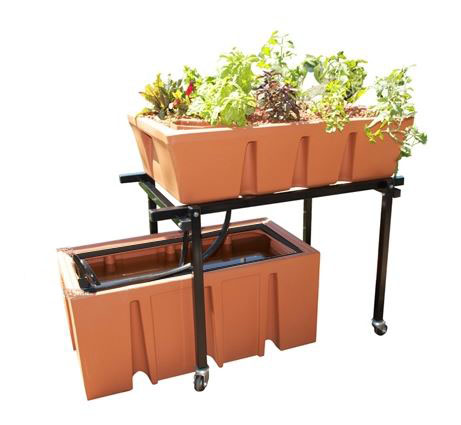AquaUrban Sleek Aquaponics System