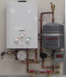 AquaHeat Gas-Fired Heating System