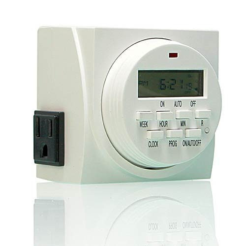 Dual Outlet 7-day Programmable Timer