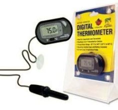 Digital Thermometer with submersible probe